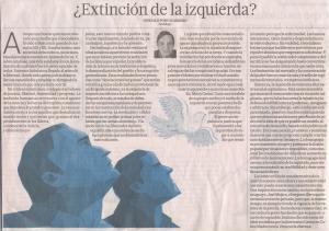 Extinción de la Izquierda, Gonzalo Portocarrero