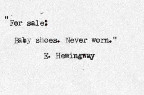 Hemingway, el cuento de 6 palabras